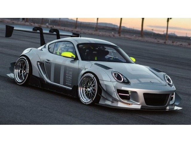 987 - 981 Cayman Lightweight Window Set Racing