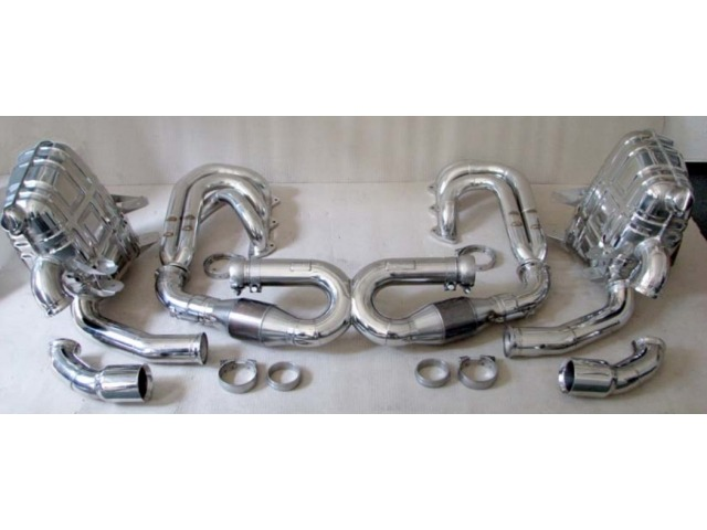 996 RSR Racing Exhaust with front silencer for Porsche