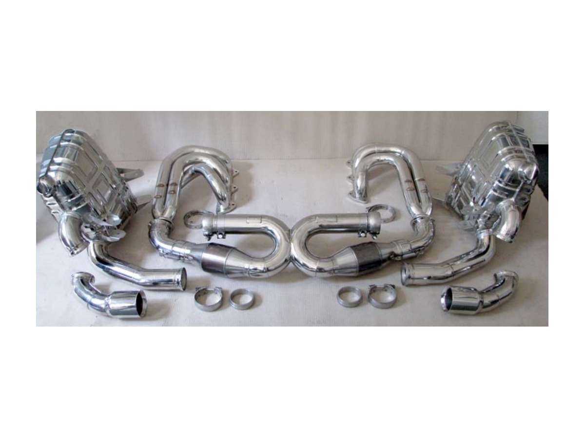 996 GT3 sports exhaust performance kit made of stainless steel for Porsche