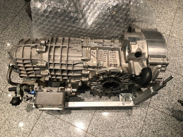 996 GT3 Cup Transmission Porsche completely overhauled