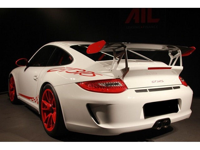 997 GT3 RS MK 2 rear spoiler complete with bonnet for Porsche