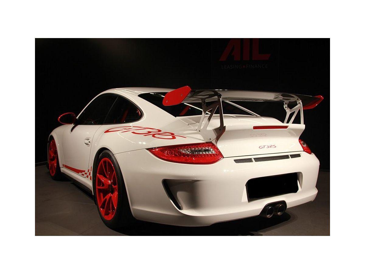 997 GT3 RS MK 2 Heckspoiler GFK komplett mit Motorhaube für Porsche 911