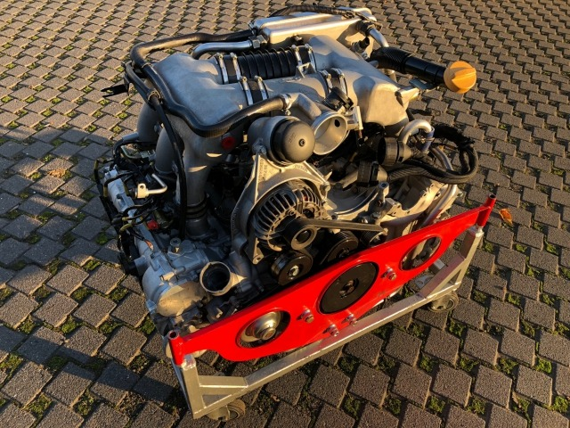 Used 996 GT3 Cup Porsche engine 3.6 liter