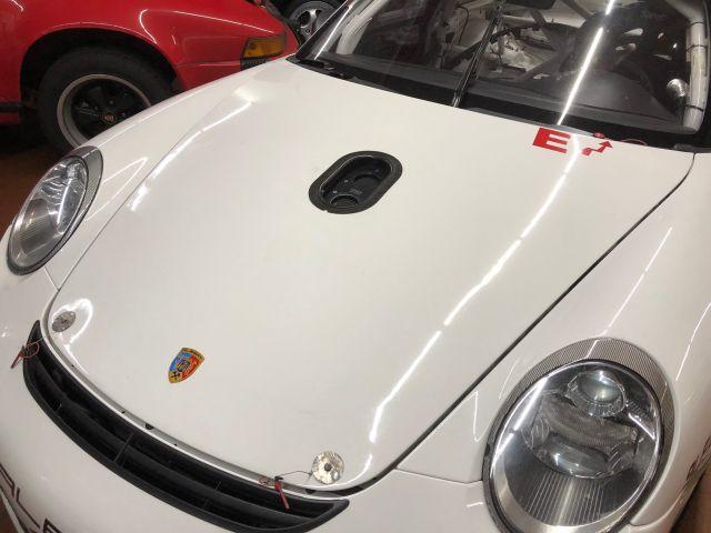 997 GT3 Cup Kofferdeckel Aluminium mit Tanköffnung Porsche 911