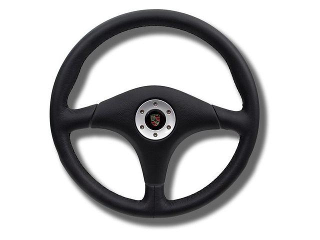 911 Sportlenkrad ohne Airbag in schwarz Porsche