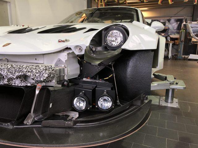 911 Turbo Porsche singlepipe rear silencer