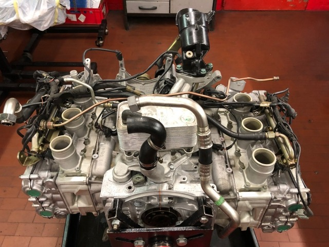 996 - GT3 Cup racing engine for Porsche 911