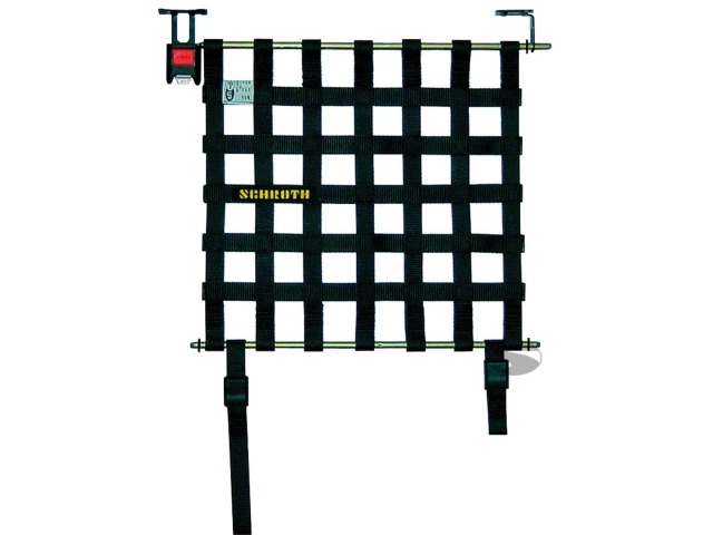 Schroth driver safety net door safety net