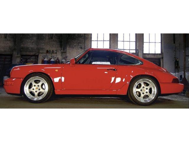 964 - 964 Turbo Nachschalldämpfer Edelstahl poliert