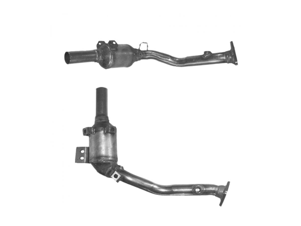 986 Boxster catalyst 2,7 - 3,2l. Cat OEM replacement for Porsche