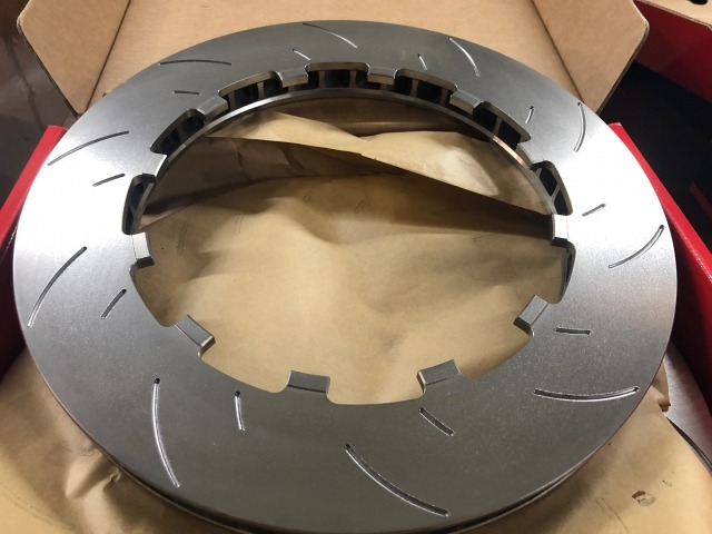 991 GT3 Cup brake discs for Porsche racing cars