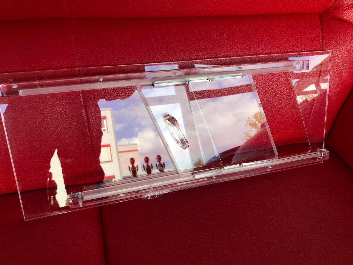 Schiebefenster aus Acryl zum Nachrüsten für Rennwagen