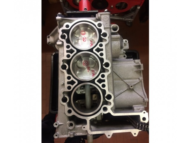 996 - 997 MK1 Porsche short block with 3.8 liter cylinder and piston in exchange