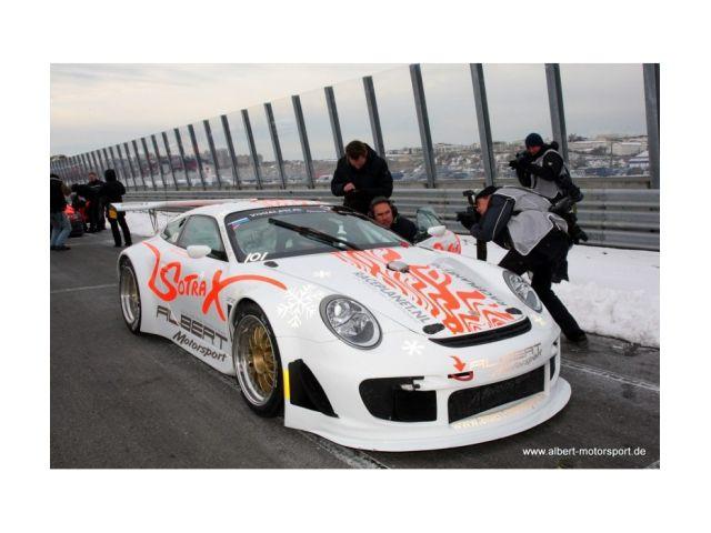 Porsche 997 RSR Flat Racecar by Albert Motorsport chopped