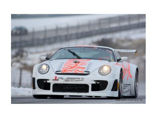Porsche 997 GT3 - R Flat o. Motor und Getriebe ex. Albert Motorsport