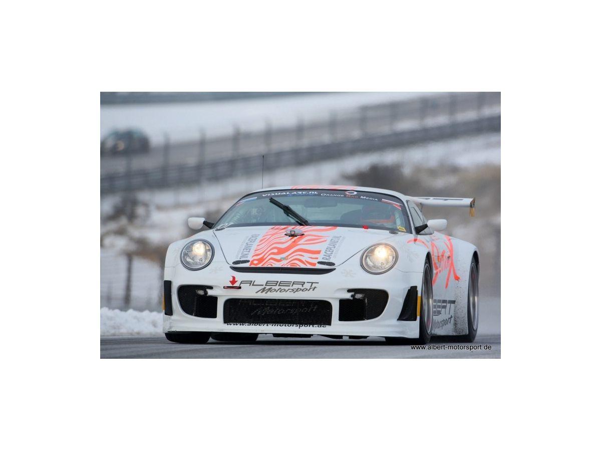 Porsche 997 GT3 - R Flat Rennwagen von Albert Motorsport