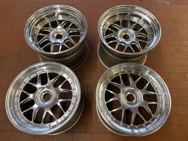 997 GT3 R wheelset BBS rims forged wheels Porsche
