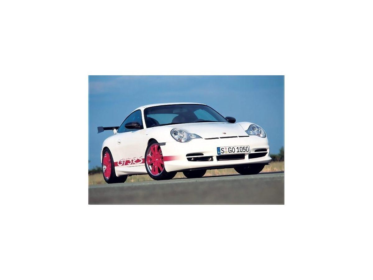 986 - 996 GT3 Cup Bugschürze aus GFK für Porsche 03 - 05