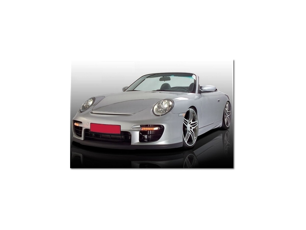 Front bumper for Porsche 987 Boxster and 997 for update to 997 GT2 look