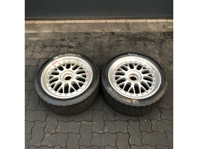 996 GT3 Cup Felgen 2 Stück 9 x 18 BBS Porsche 911