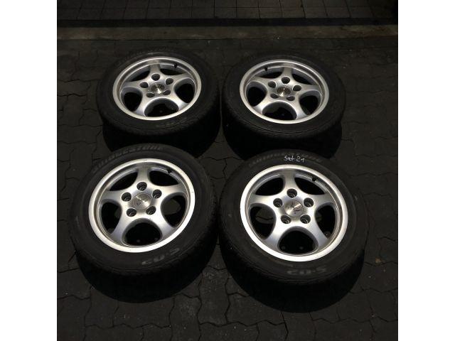 964 Radsatz 16 Zoll gebraucht Aluminium Porsche