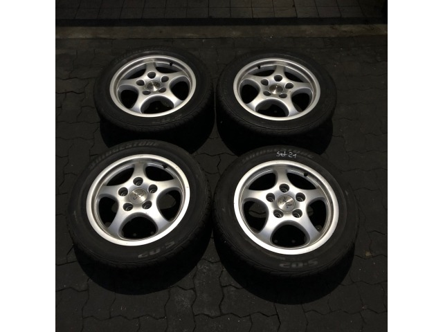 Porsche 964 Wheelset for winter tires 911 Carrera 16 Inch