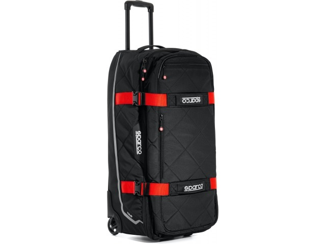 Racer suitcase Sparco trolley bag racing