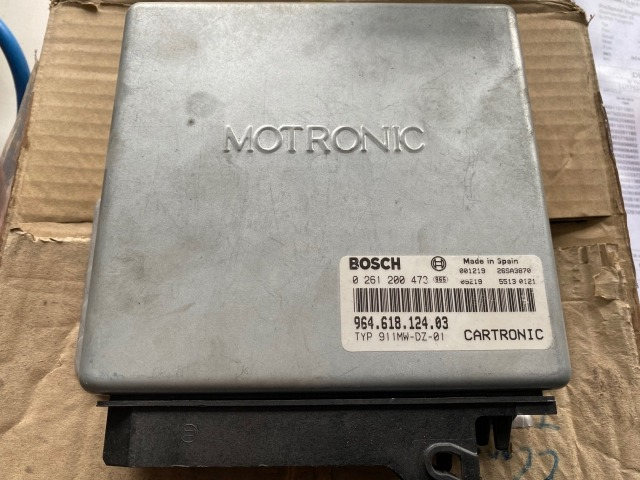 964 - 993 Cup engine control unit ECU Motronik Porsche Bosch