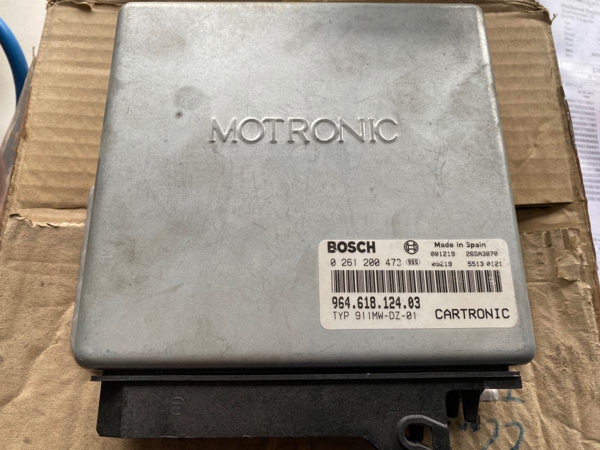 964 - 993 Cup Motor Steuergerät Motronik Porsche Bosch