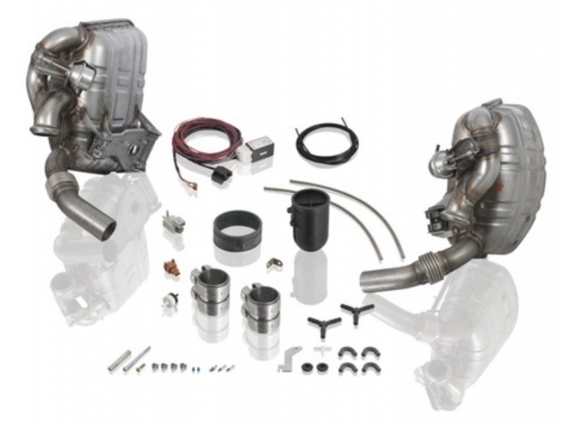 996 exhaust system Sport version in set for Porsche