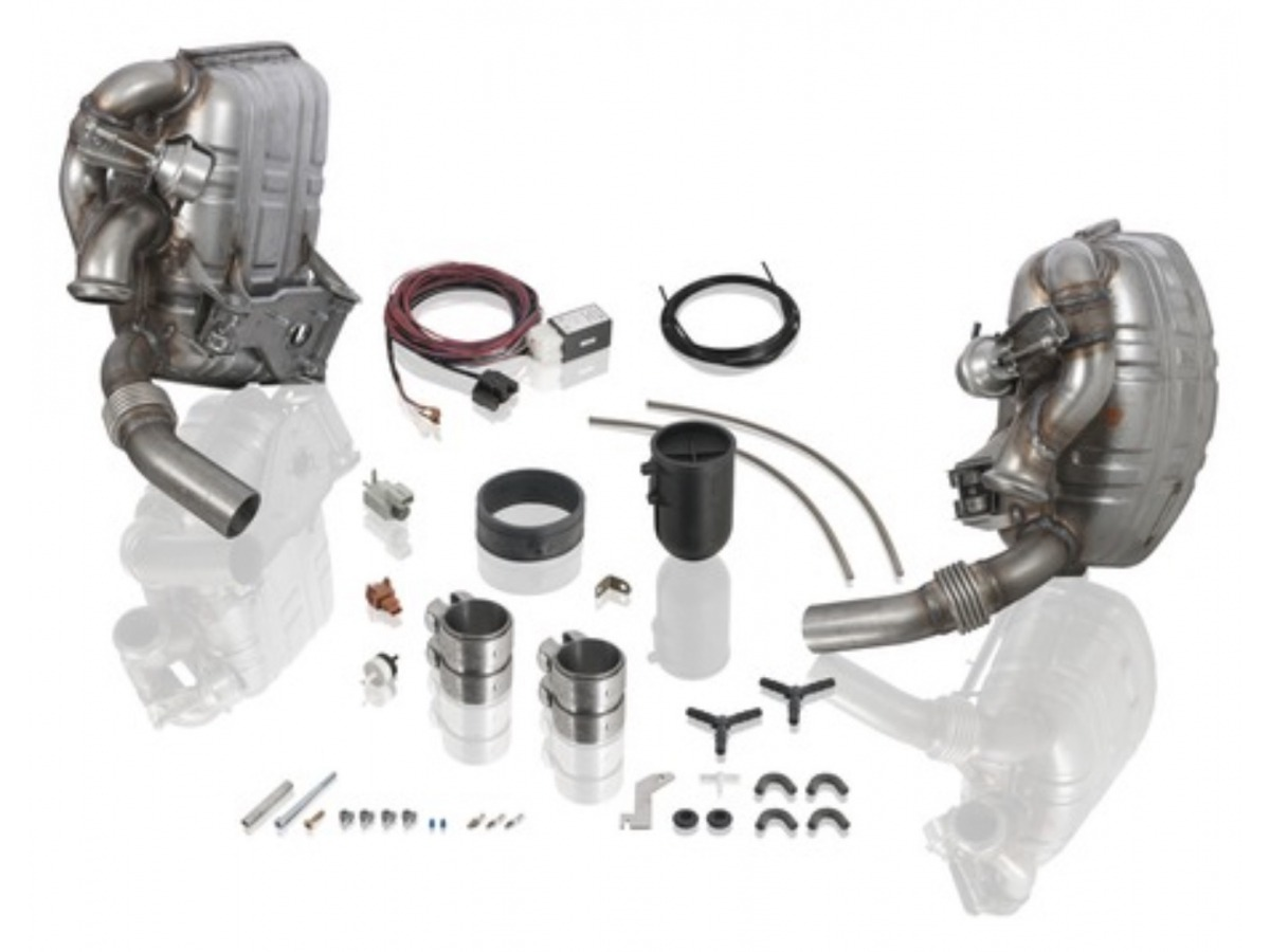 996 exhaust system Sport version in set for Porsche