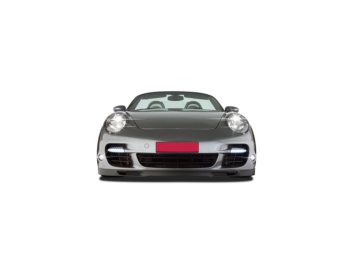 987 - 997 Bugschürze upgrade zum Porsche 997 Turbo Look