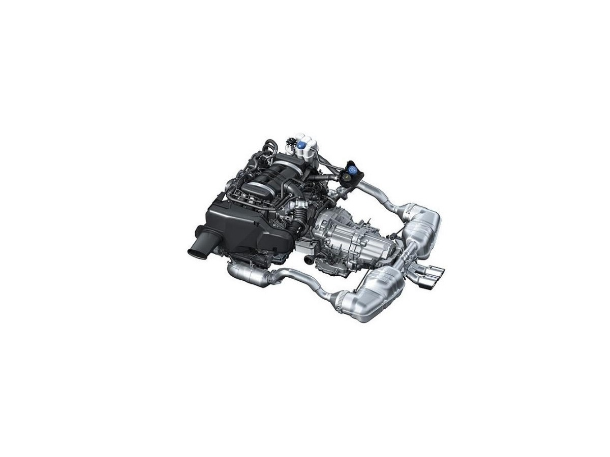 986 Boxster 2,7 liter AT - engine, replacement engine, replacement engine Porsche