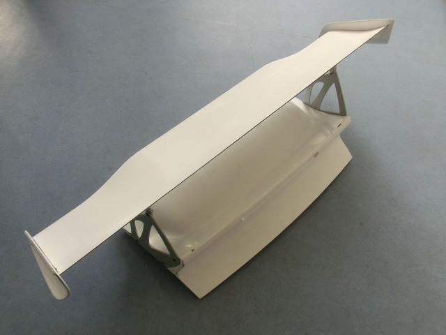997 GT3 RS MK 2 rear spoiler carbon with bonnet for Porsche 911