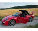 991 convertible soft top in Sonnenland dralon fabric for Porsche 911