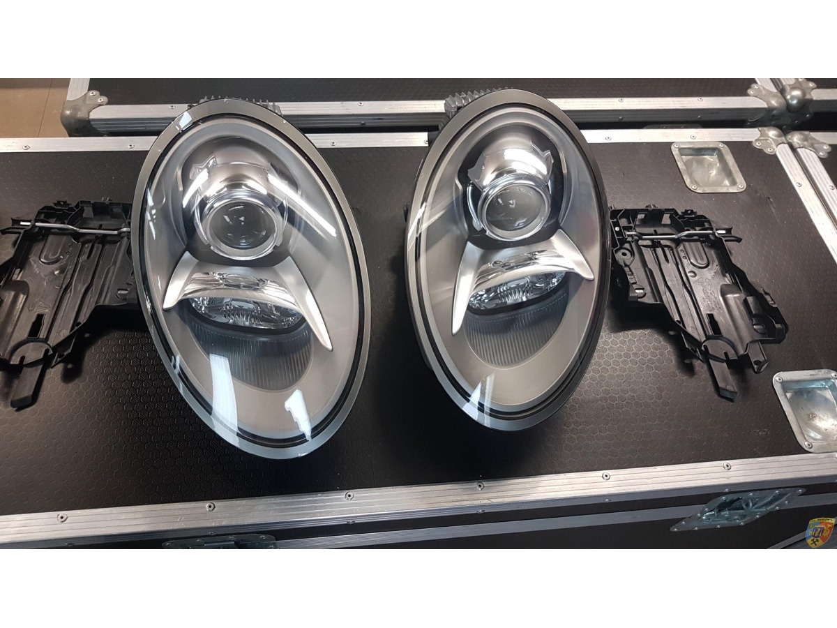 991 - GT3 - Cup Xenon 2 x headlights new OEM Porsche