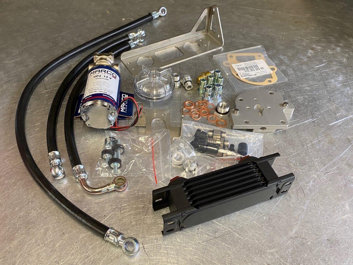 911 - 915 - 930 transmission oil cooling for Porsche transmissions