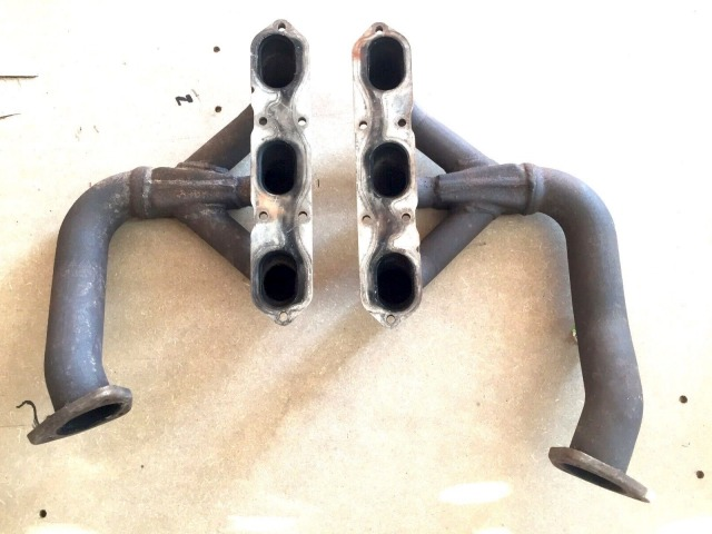 997 exhaust manifold right and left Porsche 3.8 liter