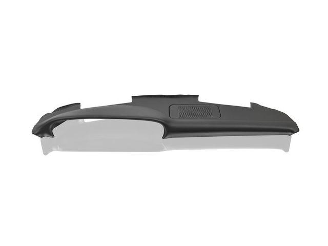 911 Schalttafelverkleidung mit Lautsprecherblende Kunstleder, schwarz für Porsche