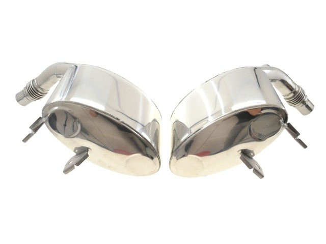 997.1 Porsche Carrera Sportsound stainless steel exhaust polished until 2008