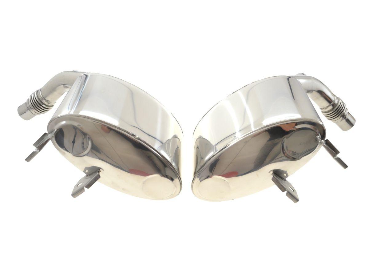 997.1 Porsche Carrera Sportsound stainless steel exhaust polished until 2008