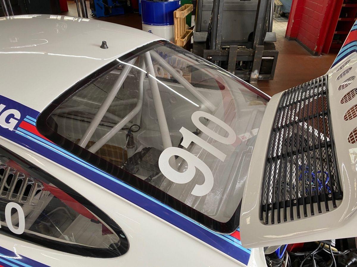 911 Race Heckscheibe klar mit Spezial - Beschichtung für Porsche Rennwagen