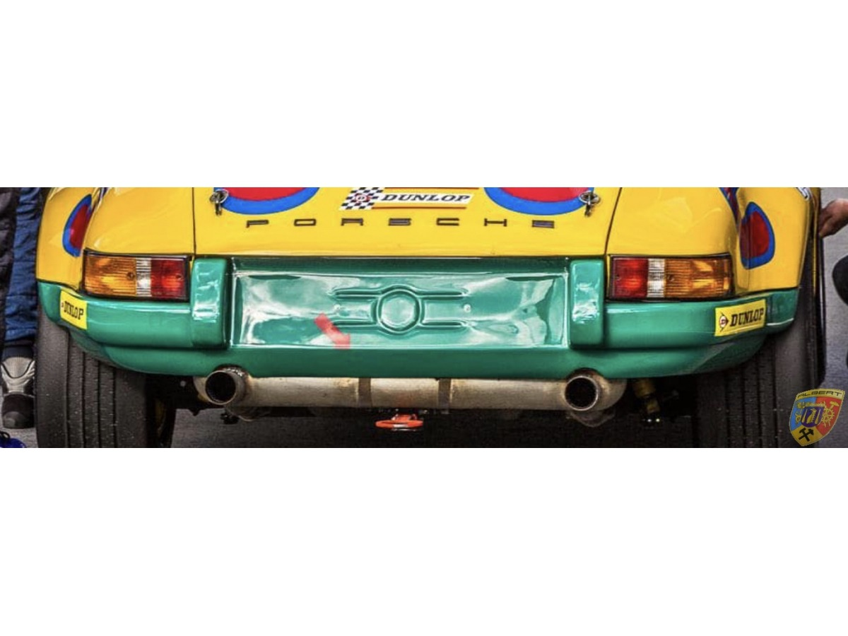 911 - 2.5 - 2,8 - ST - RSR rear bumper 1971 for Porsche in GRP or carbon