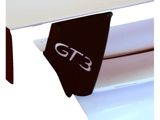 996 GT3 Cup Aufstellplatten Alu für Spoilerbrett Porsche