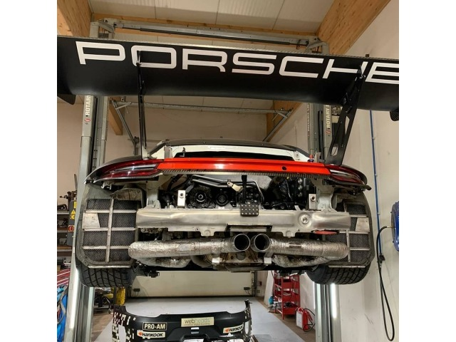 991 GT3R racing exhaust for Porsche 911