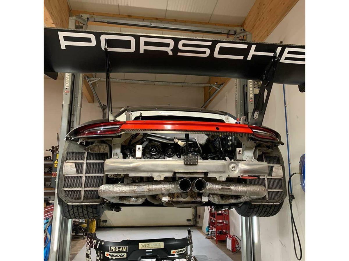 991 GT3R racing exhaust for Porsche 911