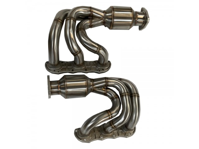 991.1 Carrera manifold with sports catalytic converter for Porsche