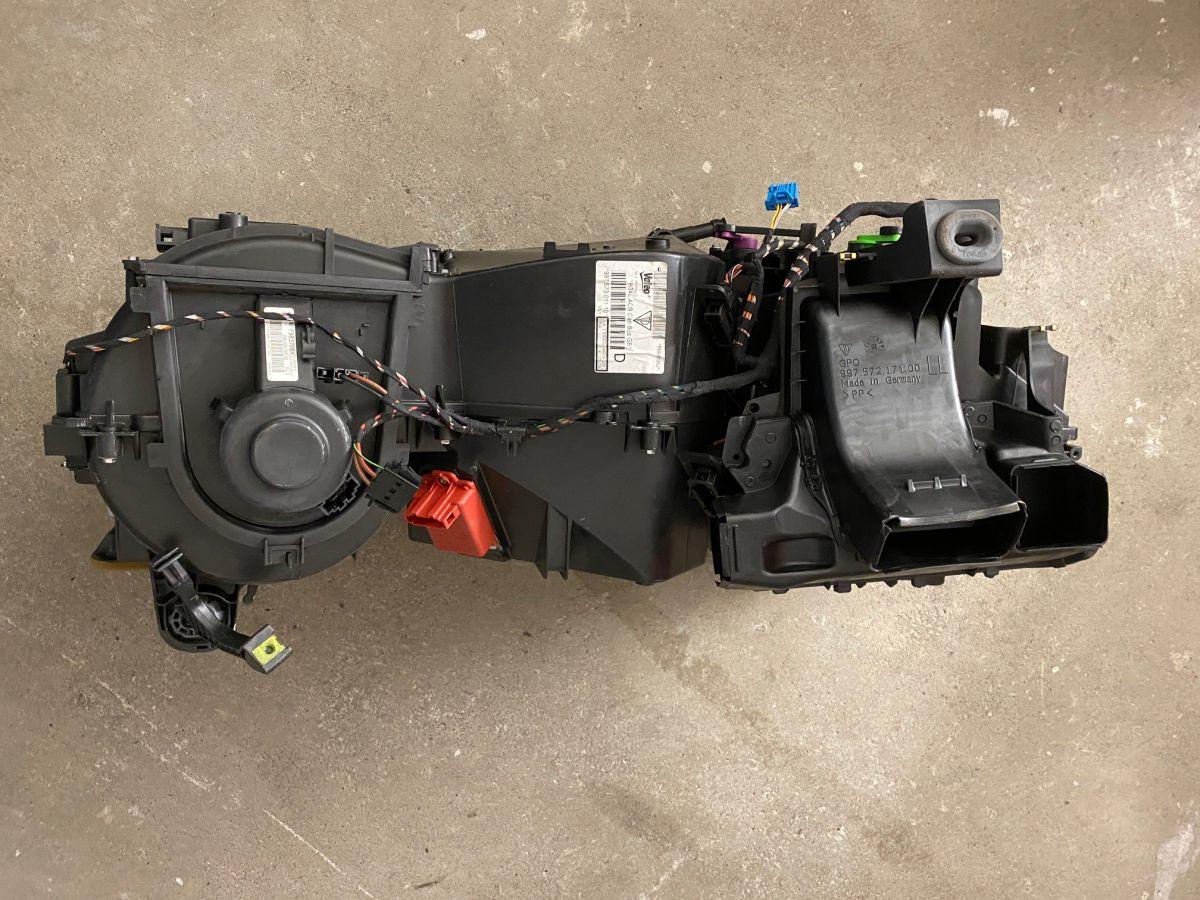 987 - 997 - Carrera - Turbo - GT3 Heizungskasten Klimagerät Porsche