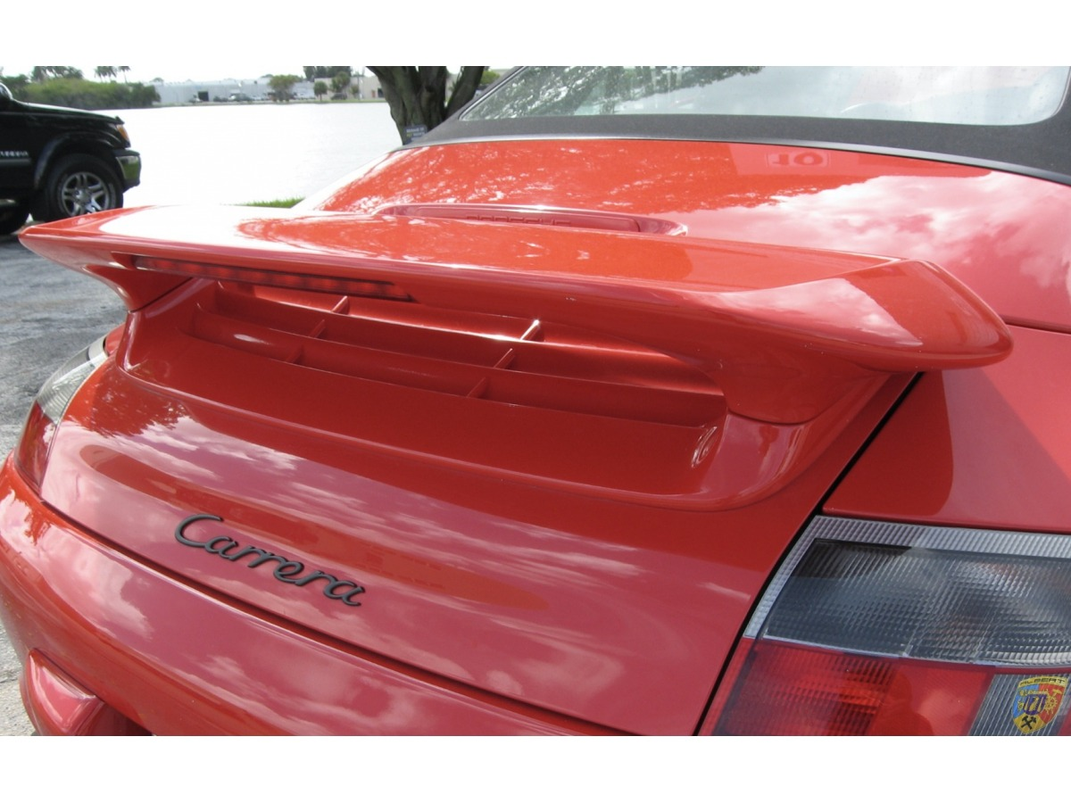 996 Carrera Heckspoiler Aerokit mit Haubenadapter Porsche ( gebraucht )