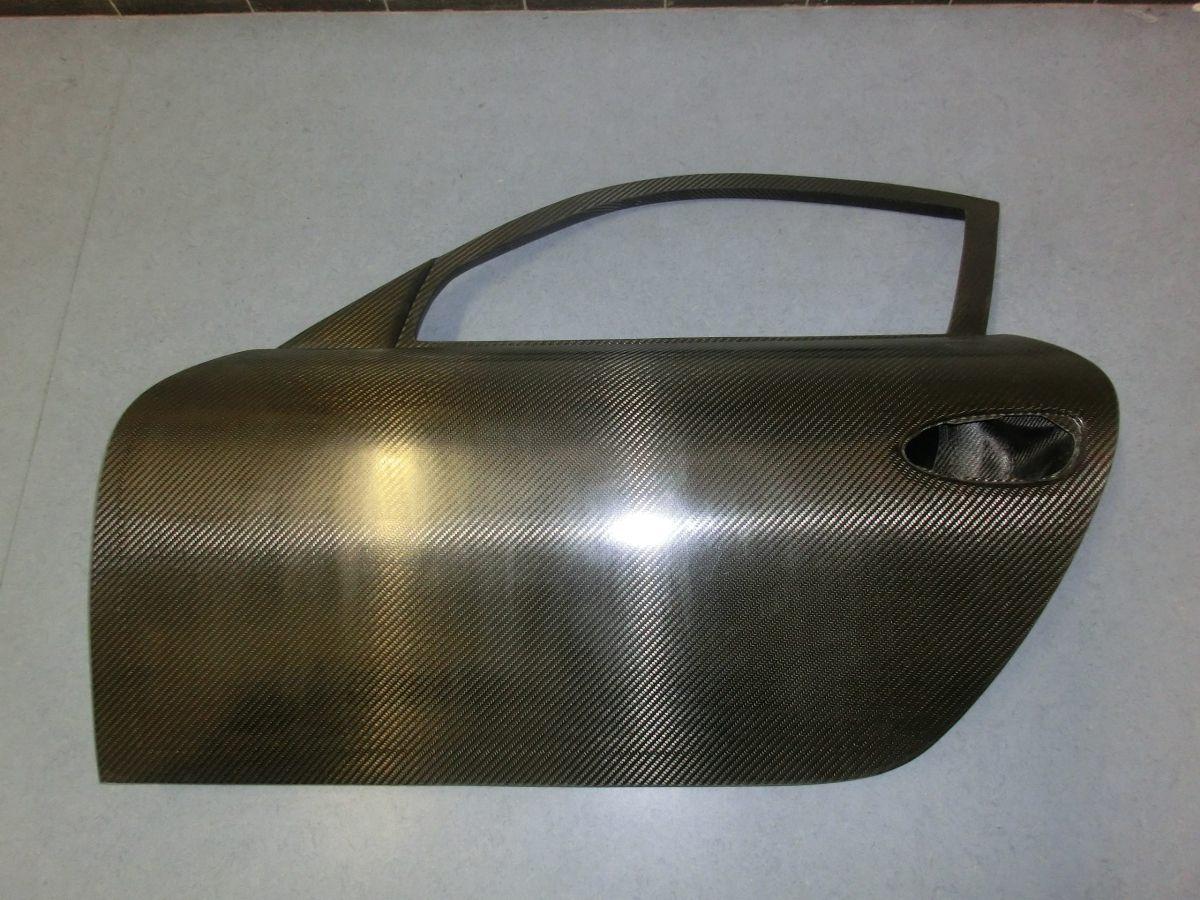 991 - GT3 Cup - RS - RSR - GT2 lightweight doors in clear carbon for Porsche